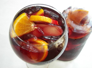 """Brasserie Jo Boston Sangria"" por Colonnade Boston."